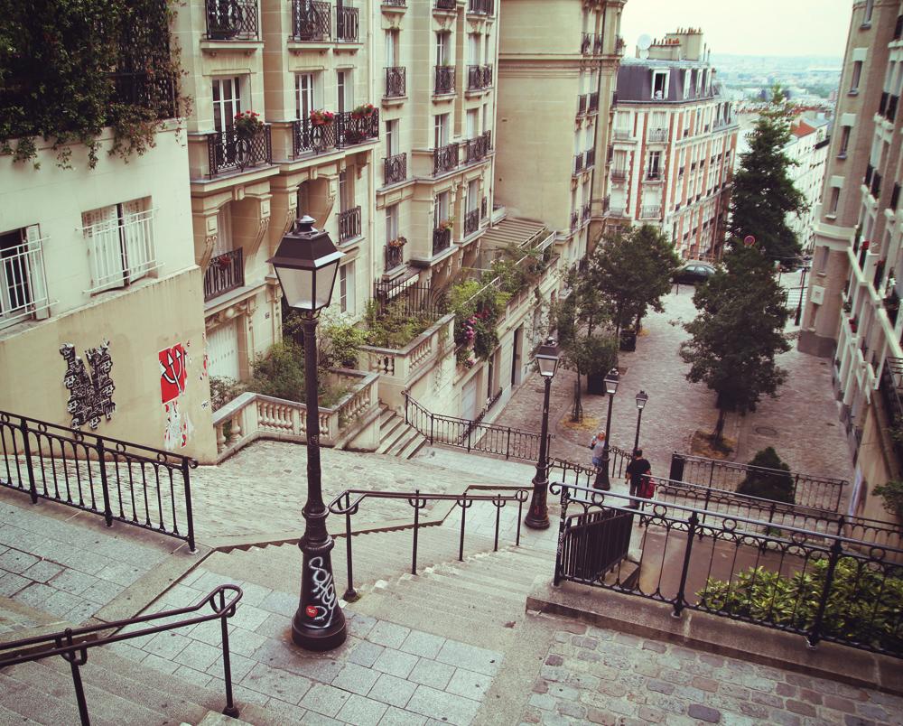 Déambulation dans Paris