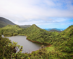 Fresh water lake, Dominique