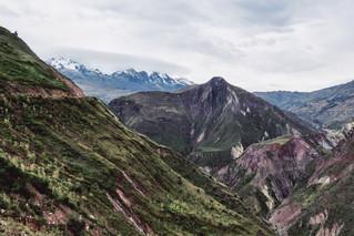 Bolivie, La Paz, les montagnes