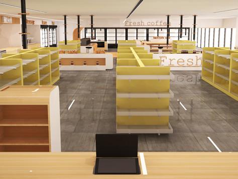 Fresh shop - retail design
