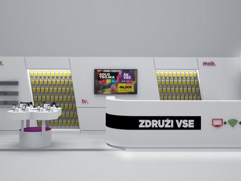 Telemach retail booths
