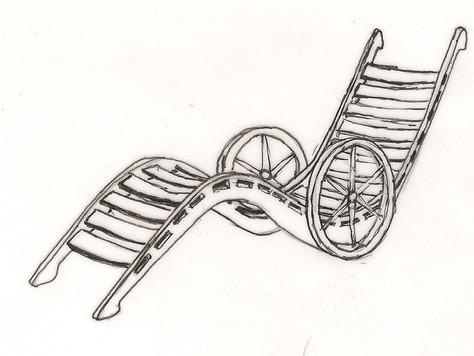 Karjolca lounge chair