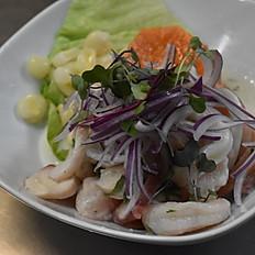 Ceviche De Camaron / Shrimp Ceviche