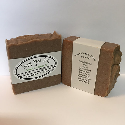 Ginger & Patchouli Soap
