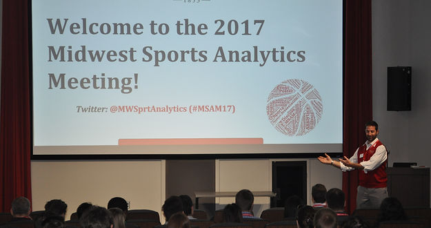 Midwest Sports Analytics Meeting 2017 welcome by Russ Goodman