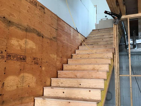 We have stairs!
