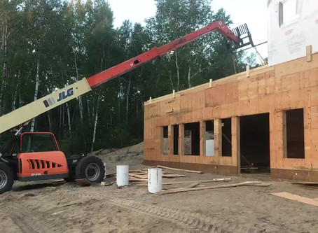 Watch the Dining Hall Wall Going Up!