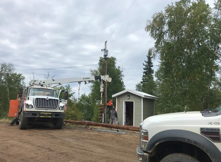 Power poles and upgrades