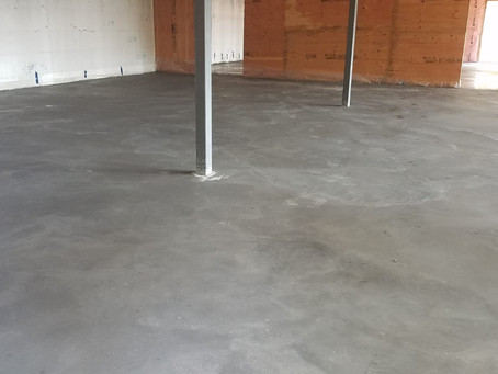We Have a Floor!!!