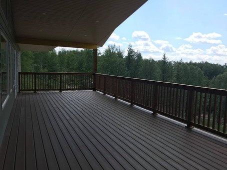 Anyone looking forward to coffee on the deck?