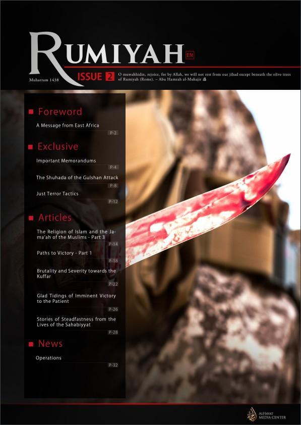 Ecco la seconda edizione della nuova rivista dell'ISIS
