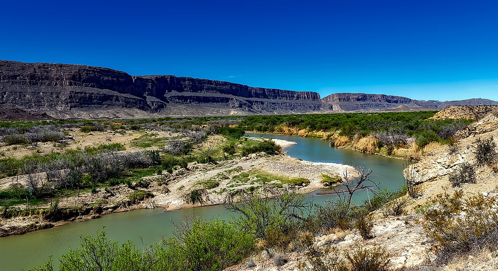 Una foto del Rio Grande