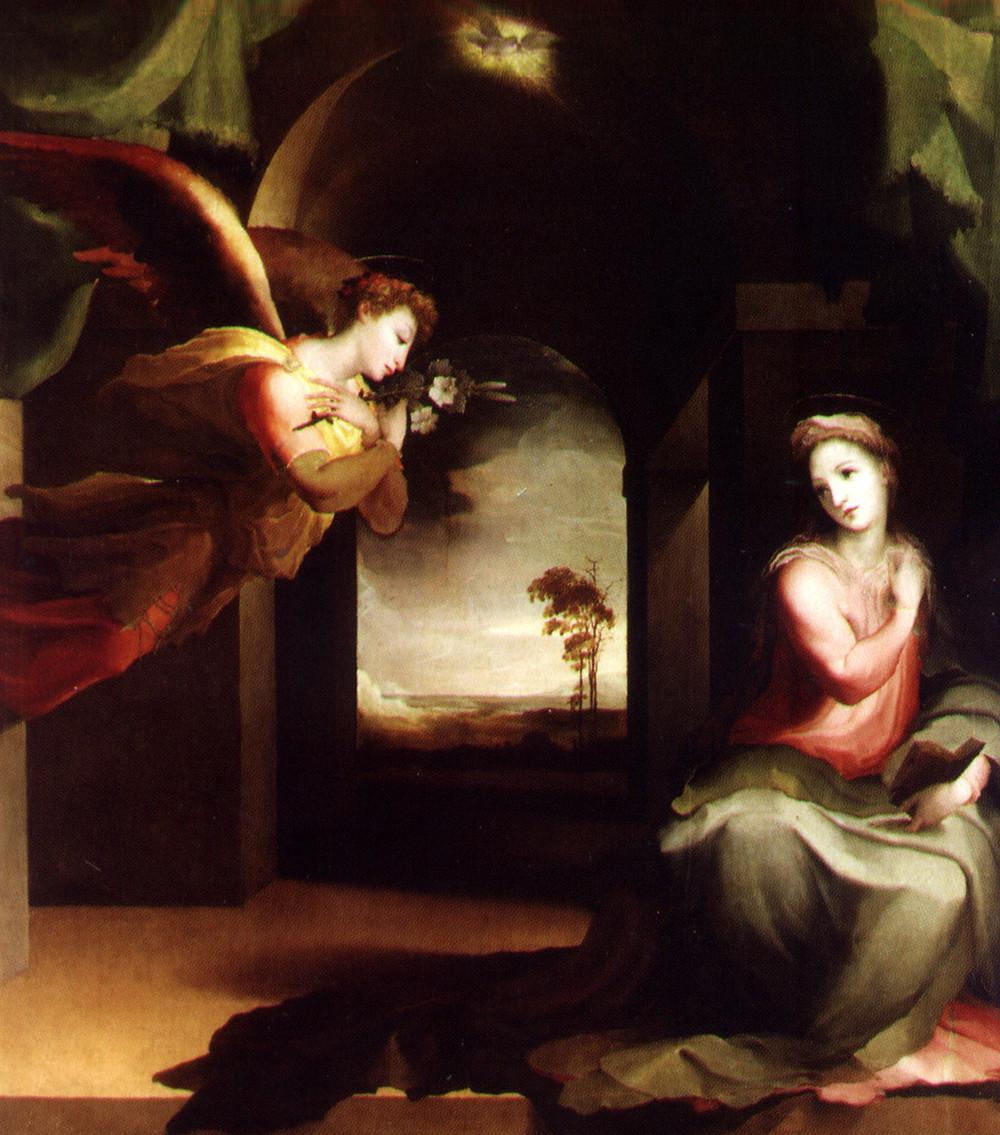 L'Annunciazione di Domenico Beccafumi