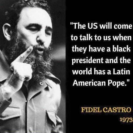 L'ultimo dono di Fidel a Papa Francesco