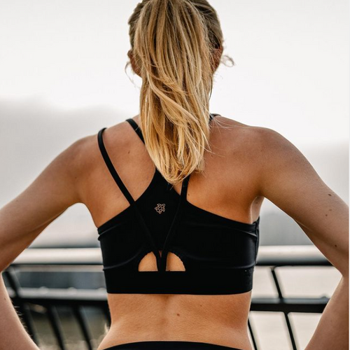 Hello weekend ☕️ Hello Luca bra  Super elastic, hyper comfortable with supportive cross back strap, the Luca Bra is designed using high tech sustainable ocean plastic fabrics to ensure a perfect fit.  Suitable for medium to high impact workouts from yoga and barre to HIIT and running. (Or so comfortable that we sometimes wear it just as our everyday bra..)  COMING SOON For women that make an impact  #Naturalgrace #sustainablefashionbrand