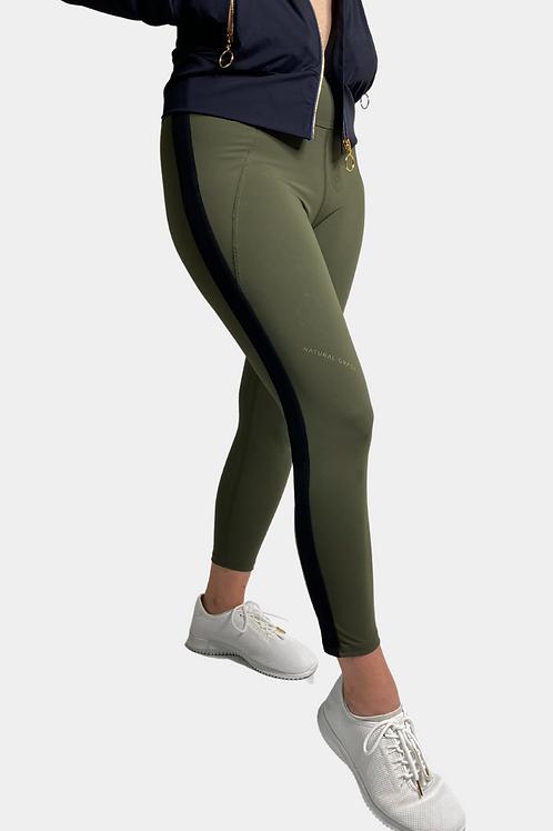 The Harriet 7/8 Legging (Green)