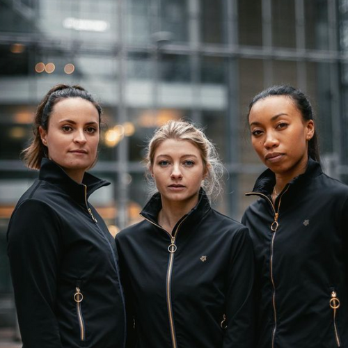 Sustainable sportswear for women that make an impact  Women supporting women. We rise by lifting others ✨  Fusing luxury, performance and conscience we present sustainability without compromise.  Featuring the Charlotte Jacket  Launching soon - stay tuned sign up for our newsletter on our website www.NaturalGraceLdn.com  Ocean plastic never looked so good