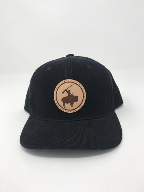 Corduroy Guy on Buffalo Hat