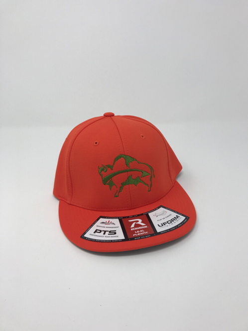 Blaze Orange Uform Buffalo Hat