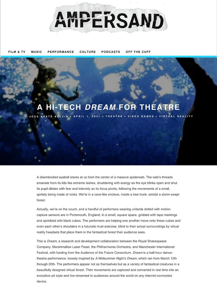 Ampersand Dream Piece Screenshot.png