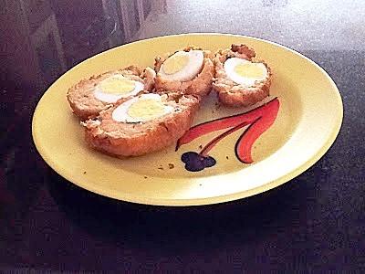 Egg in a Bread Roll