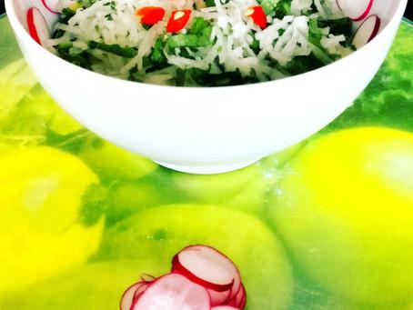 Simple Radish Salad