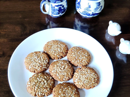 Spiced Oats Cookies