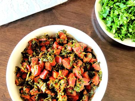 Carrot Methi ki Sabzi