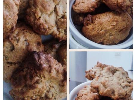 Dulche De Leche Oatmeal cookies ( eggless)