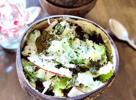 Cucumber and Coconut Salad