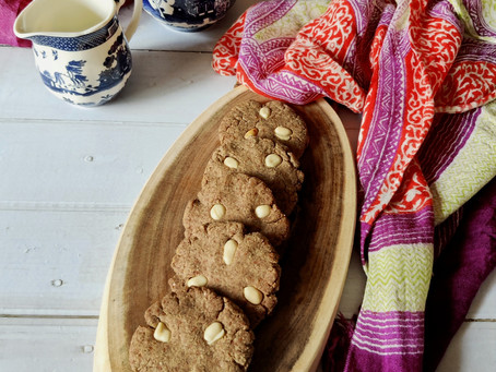 Black Wheat Flour Cookies