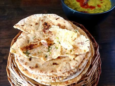 Khameeri Roti with sourdough discard