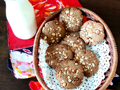 Buckwheat Peanut Butter Cookies