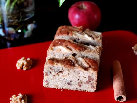 Apple Cinnamon Walnut Cake
