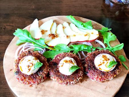Quinoa Beetroot Kababs