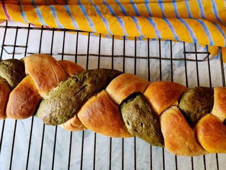 Tricolor Bread