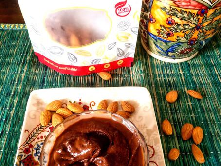 Almond Chocolate Spread aka Almond Nutella