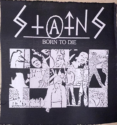 Stains Born to Die Back Patch lg.