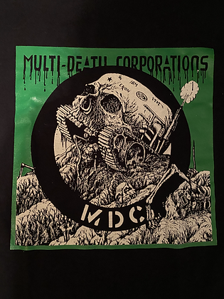 Green Multi Death Corporation  Shirt