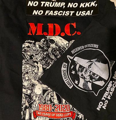 Bundle: 40 Year Anniversary Shirt, Deceived Citizens Bandana & No Trump Sticker