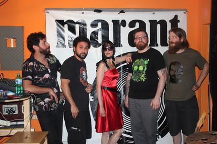 Rock the stage mit der Band MARANT