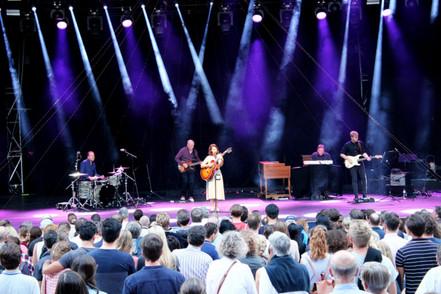 Katie Melua beim Live at Sunset in Zürich – als wäre ein Engel vom Himmel herabgestiegen