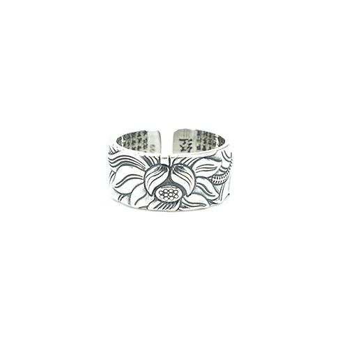 Fiore Silver Ring