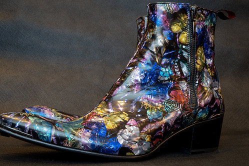 Jeffrey West Sylvian Patient Butterfly Boots