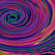 Many Colored Twirl