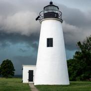 Storm at Elk Neck Lighthouse