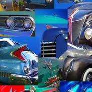 Antique Car Montage