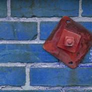 Brick Wall with Bolt