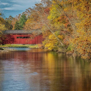 Bowmansdale Covered Bridge