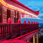 The Pagoda By Night